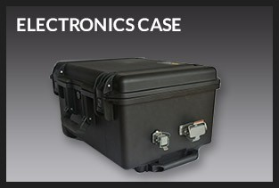 360autoview Electronics Case holding computers, cameras and cordes